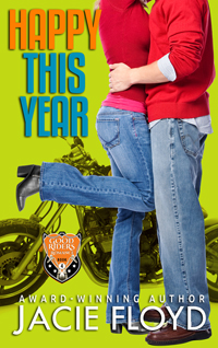 Happy This Year: a Good Riders Christmas Novella by Jacie Floyd